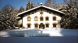 Villa Mellon im Winter